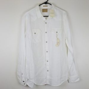 Lucky brand shirt  size L